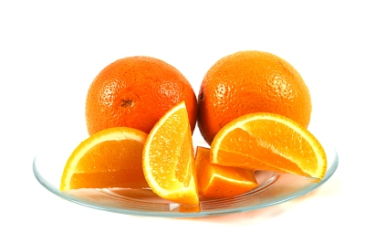 Orangen einlegen